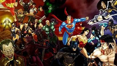 Wallpapers 3d Heroes Super Dc Comics Characters