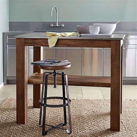 rustic kitchen island table home style choices rustic kitchen island