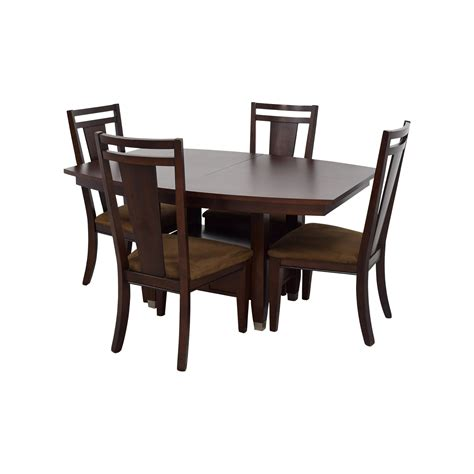 78% Off  Broyhill Broyhill Wood Dining Table Set Tables