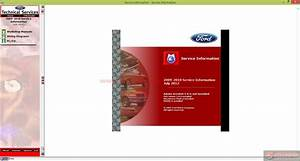 Workshop Manual Ford Motor Company Usa 2009