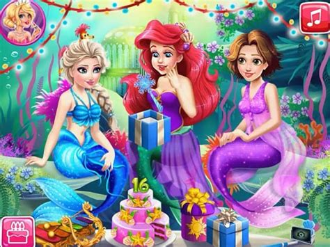 papa louie cuisine joue à mermaid birthday gratuit sur pomu fr