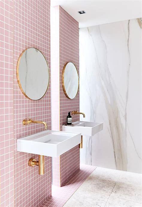 millennial pink bathroom styles homemydesign