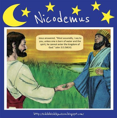 story of nicodemus for preschoolers bible for nicodemus 899