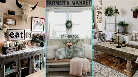 Rustic Chic Home Decor - diy rustic farmhouse style chic summer home decor ideas