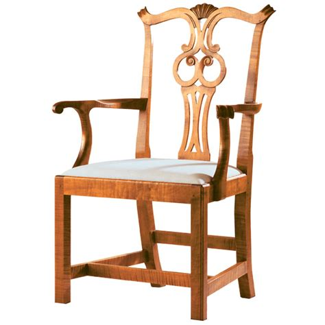 d r dimes chippendale arm chair formal dining chairs