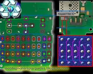 Nokia E5 Keypad Malfunction With Keypad Ic Jumper Ways