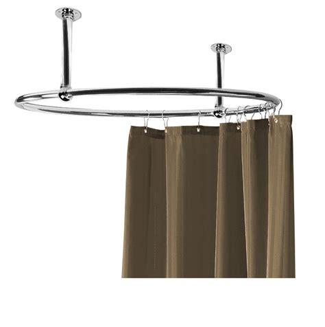 circular shower rail rosr6 shower curtain rails