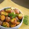 Oven Roasted Baby Red Potatoes Recipe Side Dishes with red ...