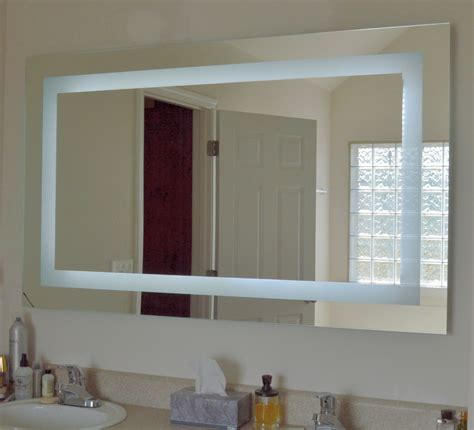 60 Bathroom Mirror by Our Mam86036 Front Lighted Led Mirror 60 Quot Wide X 36 Quot