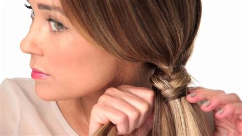 fishtail braid youtube