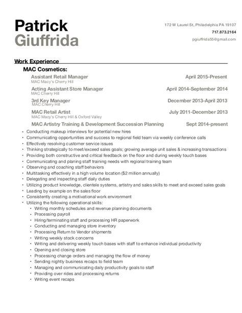 giuffrida resume