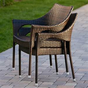 Norm, Outdoor, Wicker, Arm, Chair