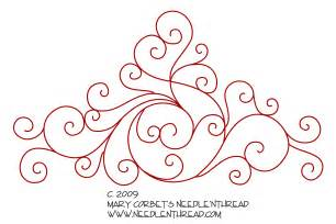 embroidery designs free embroidery design scrollies needlenthread