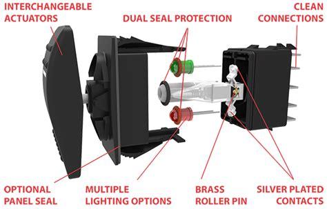 Dtdp Switch Wiring Diagram For Rocker by Carling Technologies Vld1s00b 00000 000 Rocker Switch Waytek