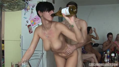 Regular Czech Teens Are Enjoying Alcohol And Hardcore Sex