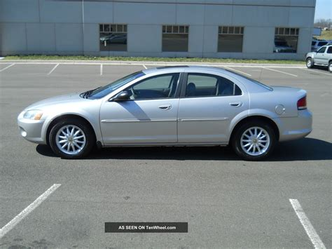 Chrysler Sebring Lxi by 2002 Chrysler Sebring Lxi Sedan 4 Door 2 7l