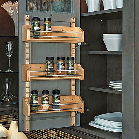 rev a shelf spice rack buy rev a shelf 174 medium adjustable door mount spice rack
