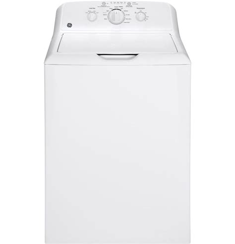 Ge Gtw220ackww 38 Cu Ft Top Load Washing Machine White