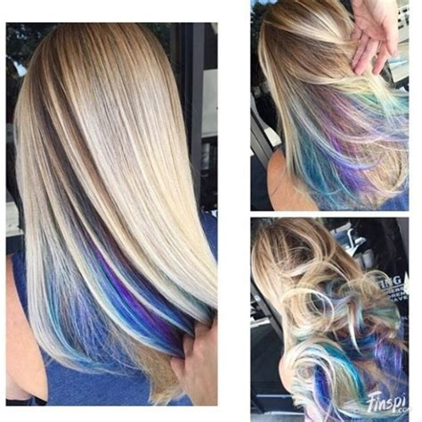 Hidden Rainbow Hair Color Ideas Our Motivations Art