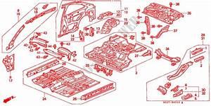 Inner Panels For Honda Cars Civic Coupe 1 6ils 2 Doors 5