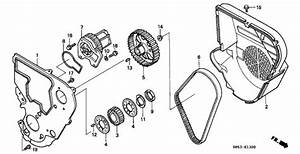 timing belt cover water pump for honda ev3610 general With general timing belt