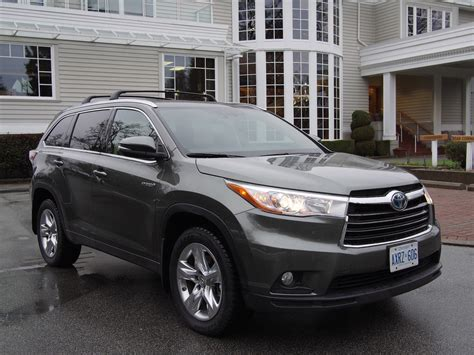 Toyota Highlander Reviews by Review 2015 Toyota Highlander Hybrid Canadian Auto Review