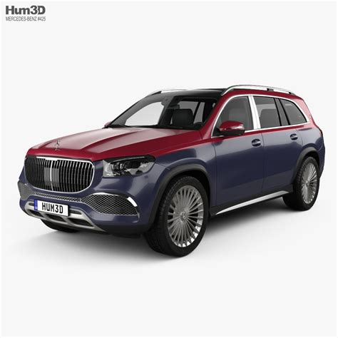The forerunner of the modern maybach marque, the 600 grosse mercedes. Mercedes-Benz GLS-class Maybach 600 2020 3D model - Vehicles on Hum3D