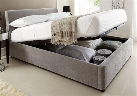 Bett Mit Aufbewahrung by Ottoman Single Beds Ottoman Bed On Guest Bed Diy Ottomans