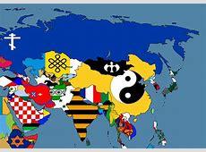 Alternate Flags of Asia by SteamPoweredWolf on DeviantArt