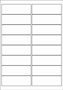 white a4 labels 16 per sheet 500 sheets per box from With 16 labels per page template