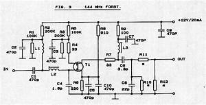 144 Mhz Preamplifier With Bf981