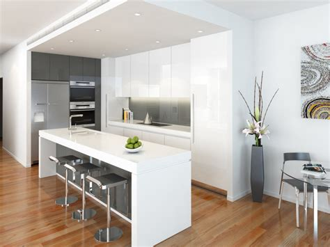 modern island kitchen design floorboards kitchen