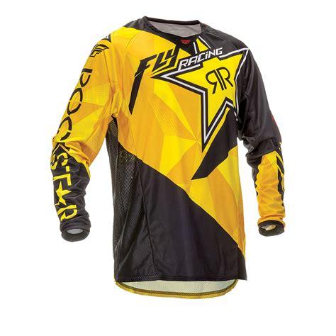 fly motocross jersey fly racing 2016 kinetic rockstar motocross jersey