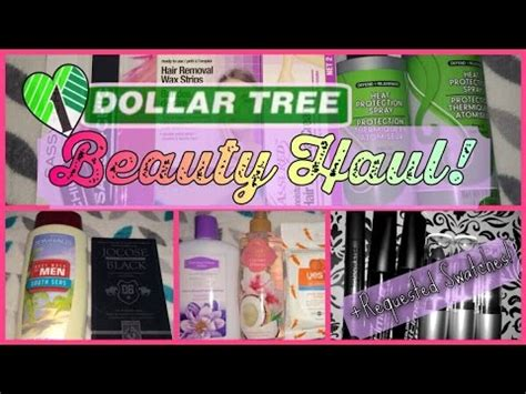 Dollar Tree Beauty Haul Wreviews! Fabb Tv  Youtube
