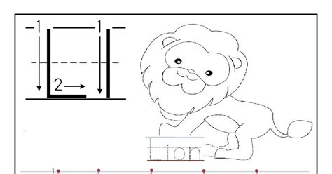 printable worksheet letter    child  learn