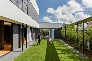 Courtyard, Home, Breaks, The, Mould, In, A, Suburban, Estate