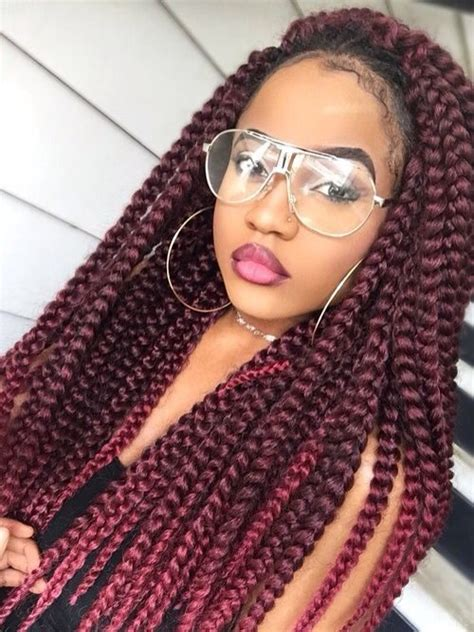 box braids with color 23 ultimate big box braids hairstyles with images tutorials