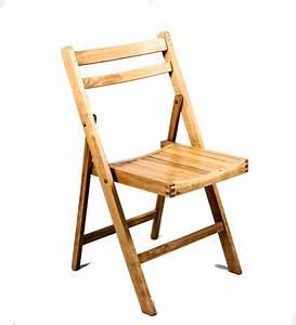 Pine, Wood, Folding, Chair