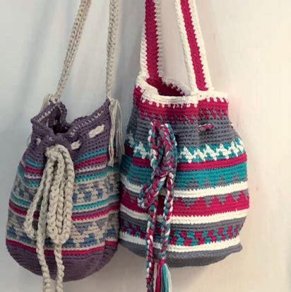 patron gratis crochet bolsa tapestry en central de
