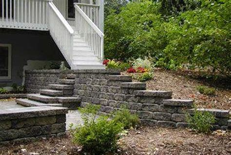 manufactured retaining walls master plans
