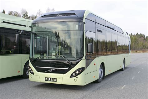 volvos  electric bus service started  sweden