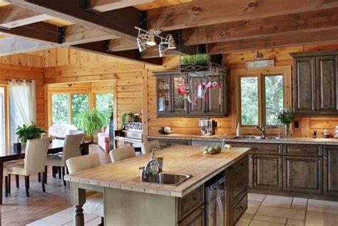 cuisines rustiques bois transformer cuisine rustique cuisine moderne le bois