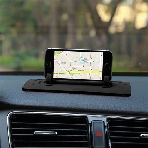iphone holder for car universal car mount holder stand cradle non slip dash mat