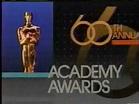 60th Annual Academy Awards 1988 ABC Promo - YouTube