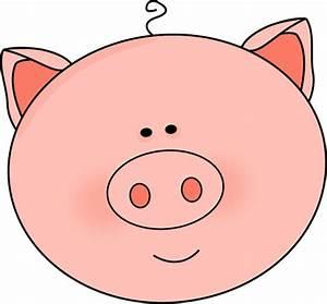 Pig Head Clipart