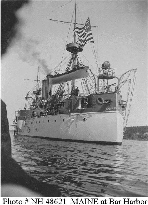 Pictures Of The Uss Maine Sinking by History In The The Bare Facts Of History That You Don