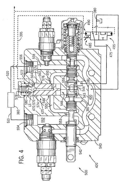 Bobcat Skid Steer Hydraulic System Diagram by Patent Us6895852 Apparatus And Method For Providing