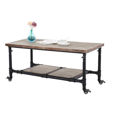 stylish ebay living room furniture industrial coffee table vintage wood metal cart furniture