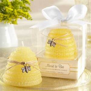 beehive candle wedding favors With beau coup wedding shower favors