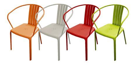 chaise de jardin couleur stunning chaise salon de jardin orange photos design